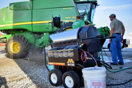 Iowa pressure washer experts for farm & industrial operations.