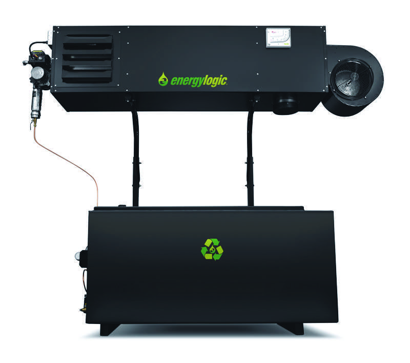 EnergyLogic EL 350H Waste Oil Heater
