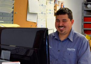 Marco Solis - Parts Room Manager